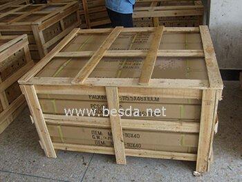 LED magic mirror wooden box packing