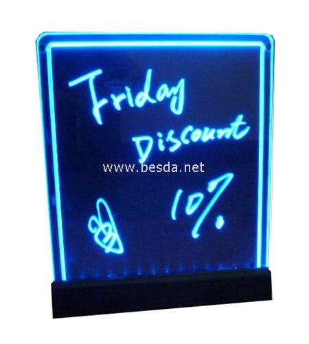 led writing board 440x430mm