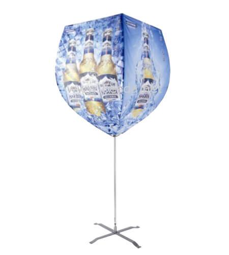 Beach Flag Wineglass shape BF-WG