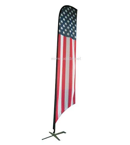 Besda beach flag feather flag BFF-1 2