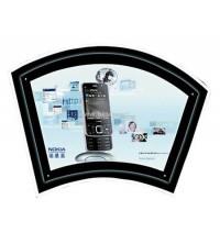 LED Acrylic crystal light box fan shape CD-7 1