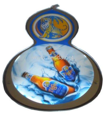 LED Acrylic crystal light box customized Gourd shape CD-3 3