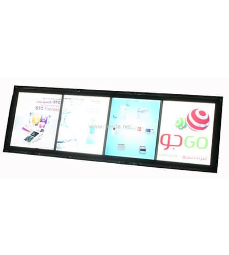 LED Acrylic crystal light box photo frame with multi images CD-2 3