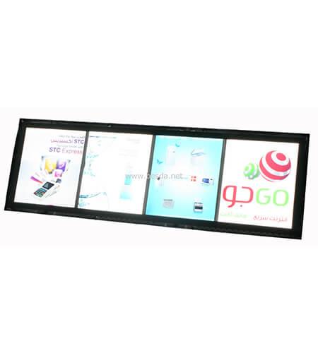 LED Acrylic crystal light box photo frame with multi images CD-2 2