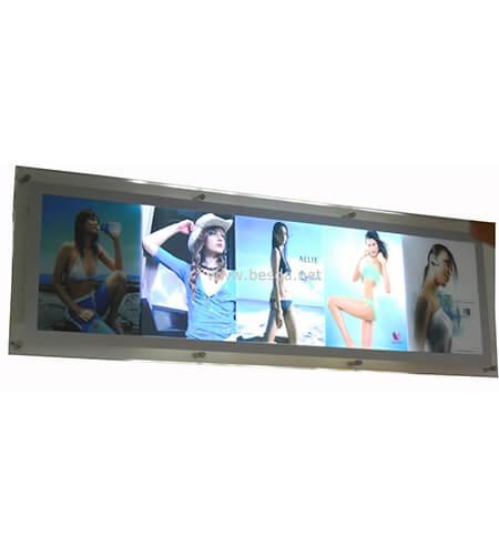 LED Acrylic crystal light box photo frame with multi images CD-2 1