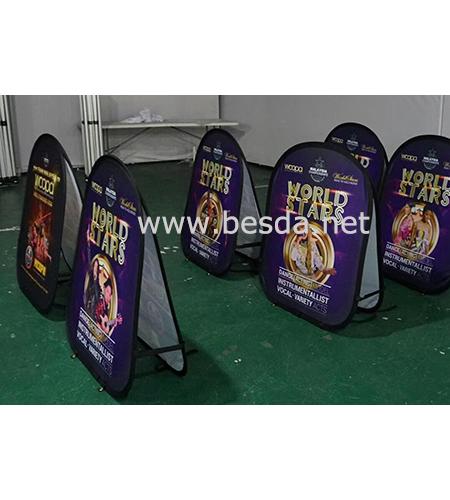 Besda POP Banner Golf Banner