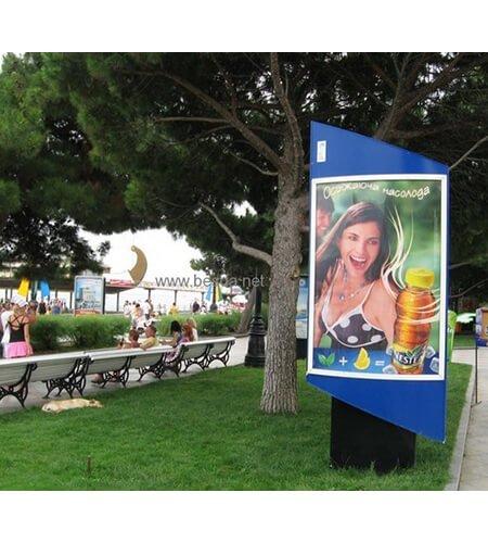 EL Advertising poster, EL billboard, Bus shelter EL poster