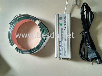 EL tape 4cmx10m with control box