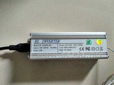 EL tape control box, EL panel control box with CE certificate