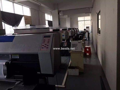 Beach flag printing department