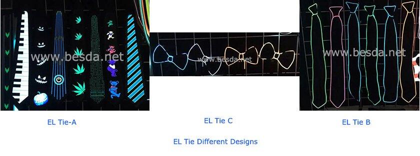 EL tie & EL wire tie